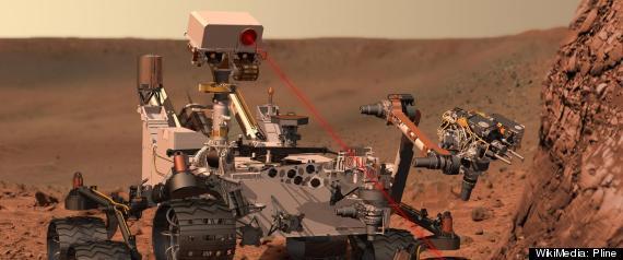 MARS CURIOSITY ROVER LASER CHEMCAM