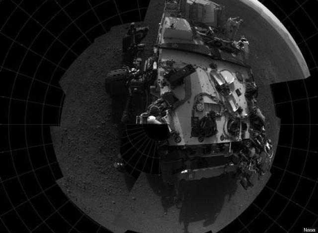Nasa's Mars Rover Curiosity Zaps First Rock With Laser Cam