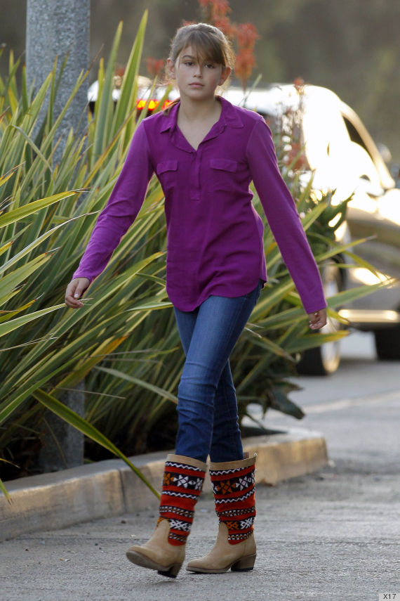 Kaia Gerber 2013 Cindy Crawford,...