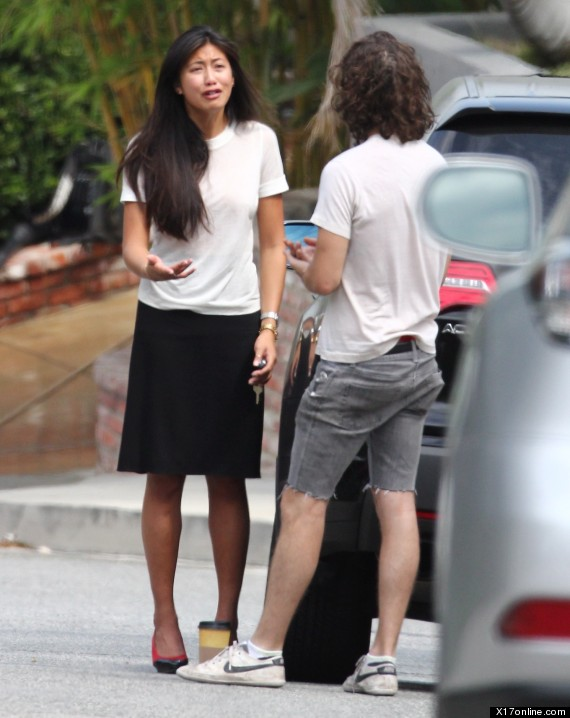 shia labeouf and girlfriend karolyn pho have a very public domestic in