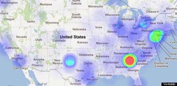 twitter heatmap
