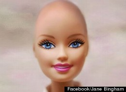 Bald Barbie Vatican Support