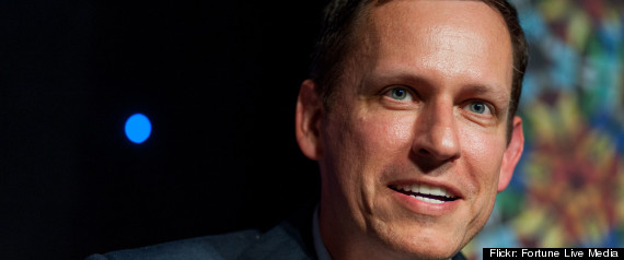 PETER THIEL FACEBOOK INVESTOR SHARES