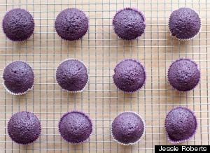 lavender cupcakes