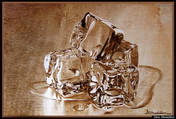 Pyrography Artist Dino Muradian Paints Masterpieces With Heat Photos, Interview -4574