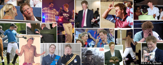 prince harry splash