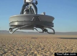 AWESOME: Hover Bikes Are Real!