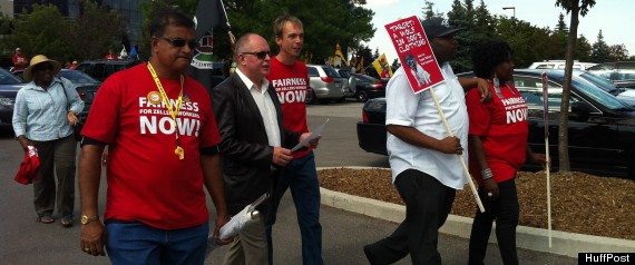 TARGET CANADA PROTEST ZELLERS