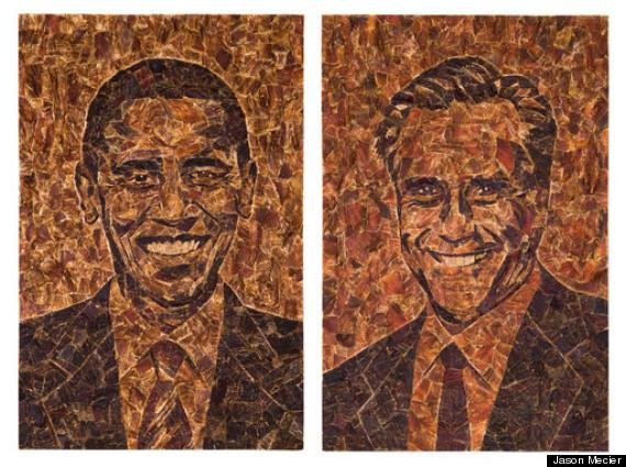 obama romney beef jerky