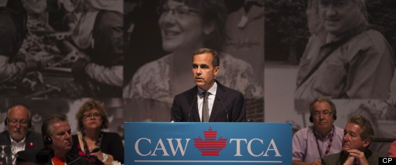 MARK CARNEY HOARDING CASH