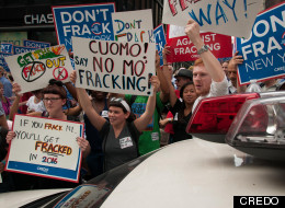 Anti Fracking protest - NYC