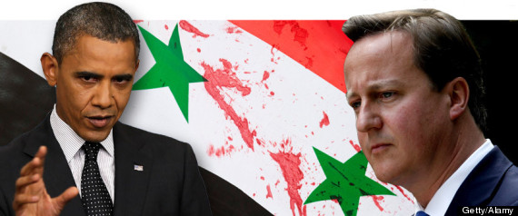 OBAMA CAMERON SYRIA WARNING