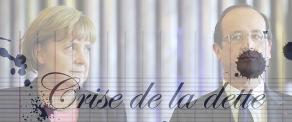 EUROPE CRISE DE LA DETTE HOLLANDE MERKEL