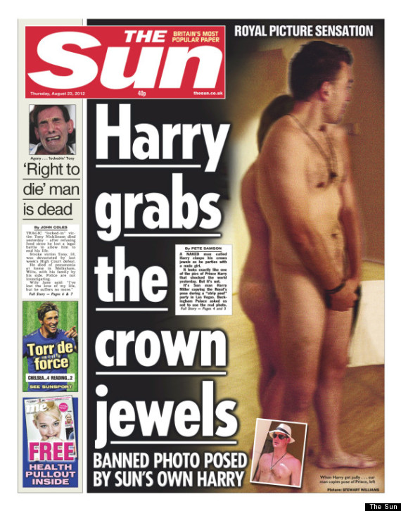 the sun principe harry