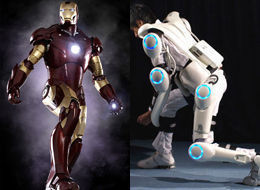 Iron Man Robot Suit Cyberdyne
