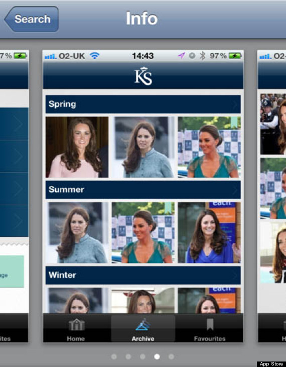 kate fashion app
