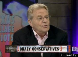 Jerry Springer Says Tea Party Is Like Bin Laden