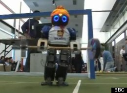 BLOOD, SWEAT AND GEARS: Robotic World Cup Lets Metal Men Test Their Mettle