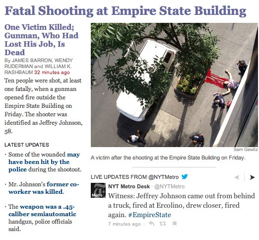 New York Times Posts Bloody, Controversial Picture Of