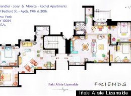 Friends Apartments Floorplan