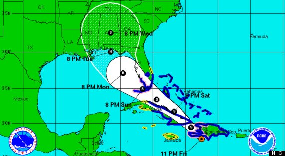 tropical storm isaac forecast path 11f hurricane