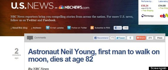NEIL YOUNG DEAD