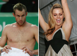Tennis star Andy Roddick is marrying his swimsuit model fiancee Brooklyn