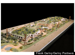 Facebook West Frank Gehry