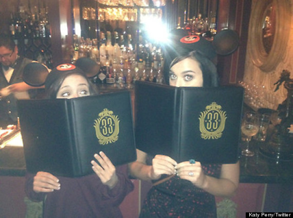 katy perry club 33 disneyland