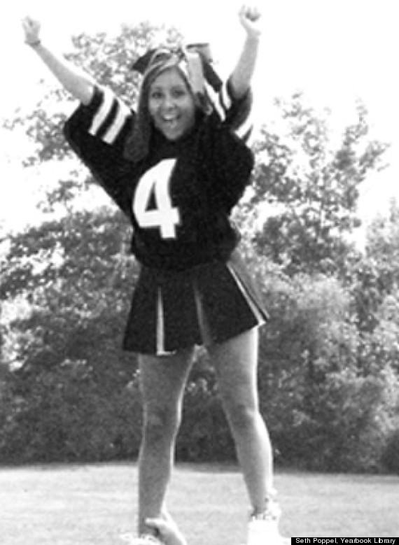 snooki flashback cheerleader