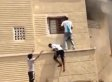 Saudi Arabian Teens Rescue Child From Burning Building (VIDEO)
