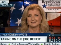 WATCH: Arianna Takes On The Jobs Deficit.