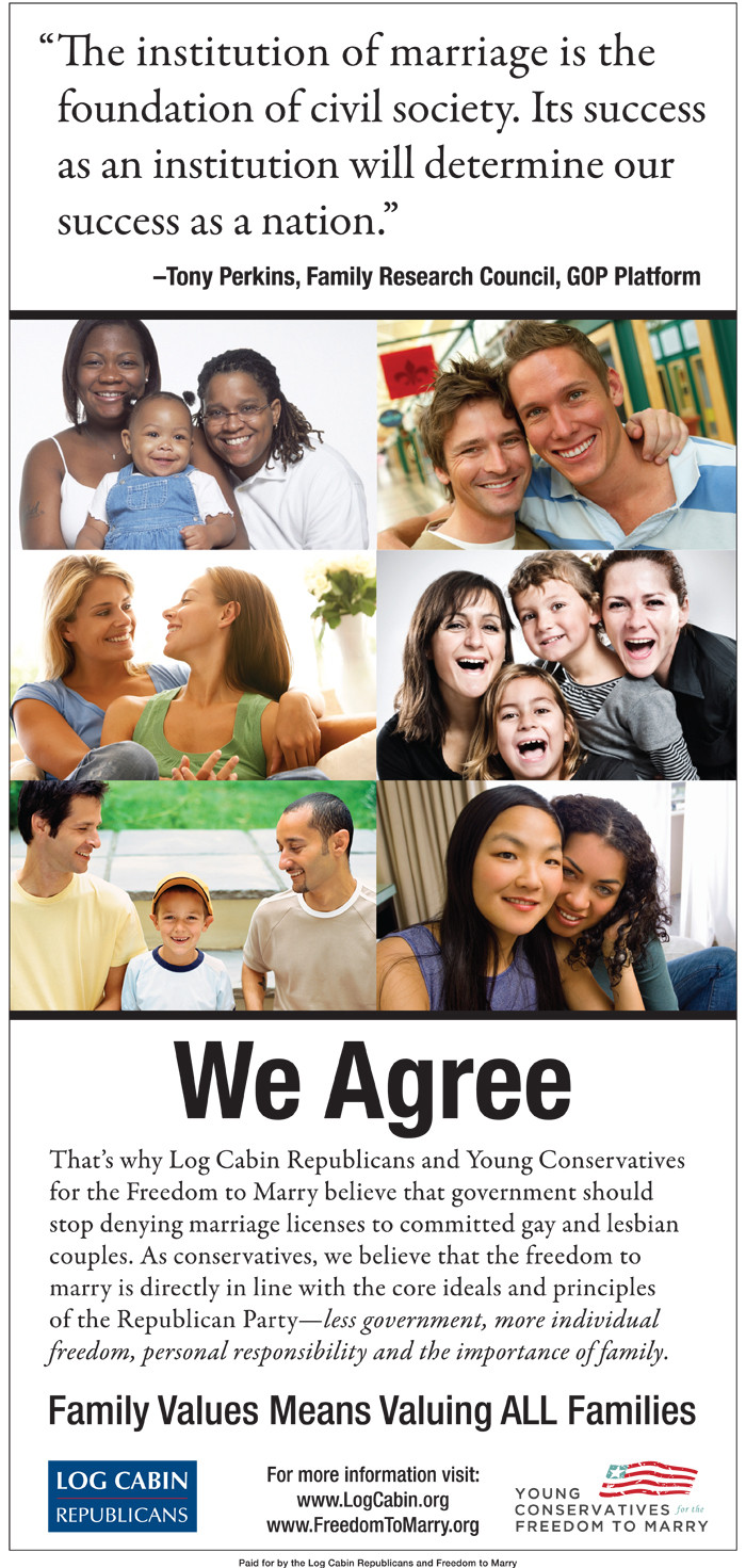 tampa tribune gay marriage ad