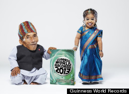 Chandra Dangi With Jyoti Amge_ Smallest Man_smalle