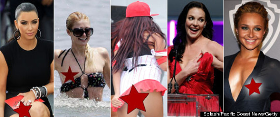 Celebrities Wardrobe Malfunction Uncensored
