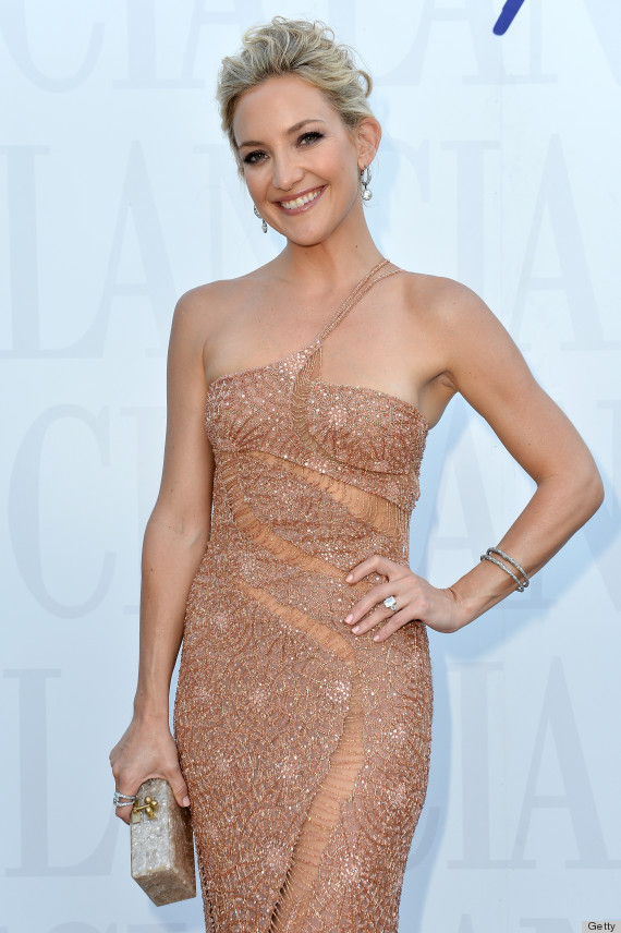 Kate Hudson's Sheer Dress Has Us Wondering Where Her Undies Are