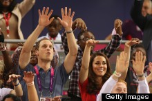 It's Mexican Wave Time Again! Wills And Kate At Day One Of The Paralympics