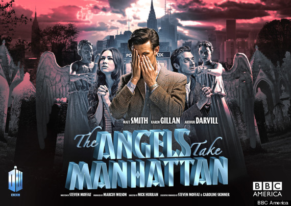 doctor who the angels take manhattan