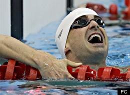 Benoît Huot aux jeux paralympiques de Londres: or et record (PHOTOS)