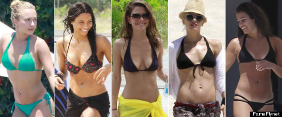 Celebrity Bikini Bodies