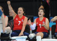 PICTURES: Martine Wright, 7/7 Survivor, Makes Paralympic Debut In Seated Volleyball