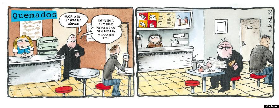 bromas de camareros