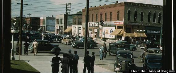 MAIN STREET AMERICA 30S 40S