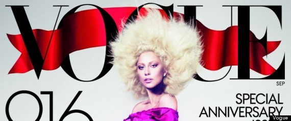 Lady Gaga Retouched Cover Vogue September
