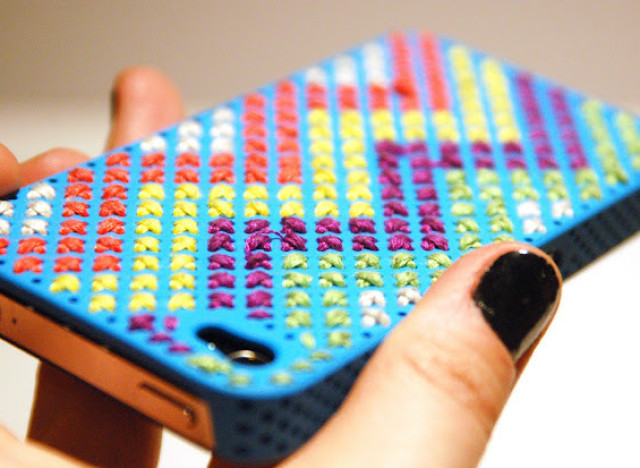 promo code 9c629 63f70 Craft Of The Day: Make A Standout Embroidered Phone Case | HuffPost Life