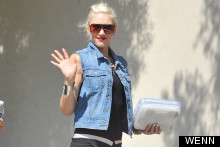 Gwen Stefani Struts Her Stuff (Including Home Baked Goods) En Route To No Doubt Video Shoot