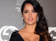 Salma Hayek Looks Absolutely Stunning In Plunging Dress (PHOTO)