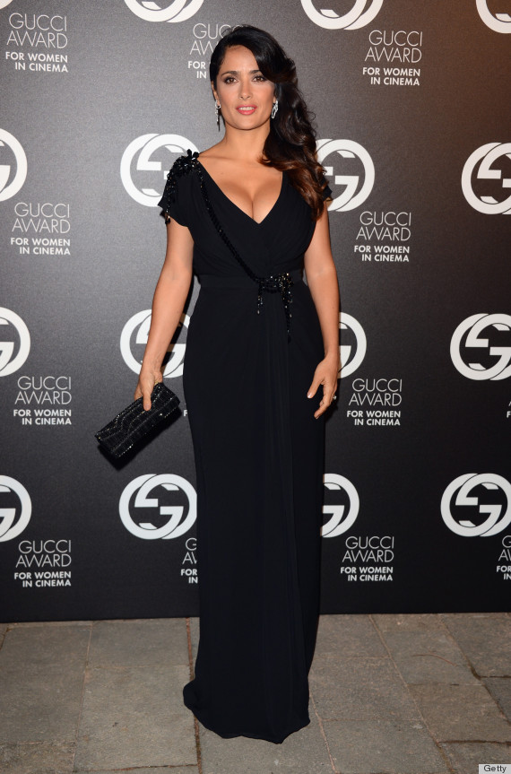 salma hayek dress
