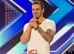 X FACTOR: Salesman Gets Emotional During Audition