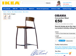 PHOTO: IKEA Sells Obama Convention Chair